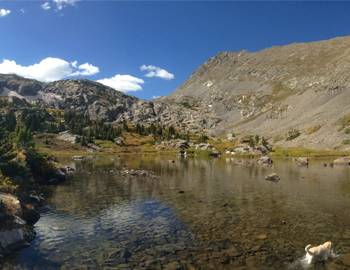 Hiking Mohawk Lakes Breckenridge Colorado Lower Mohawk Lakes
