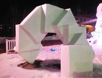International Snow Sculpture Championships Breckenridge Colorado