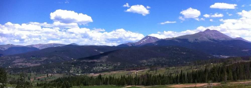 Hiking Peaks Trail Breckenridge Colorado Peak 5
