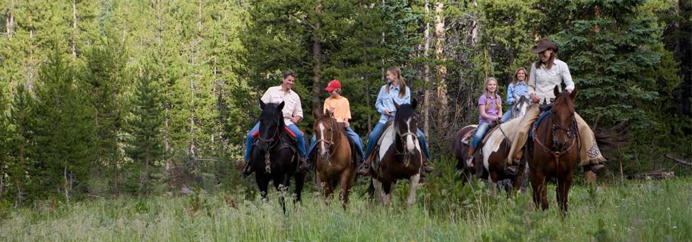 Horseback Riding Breckenridge Stables