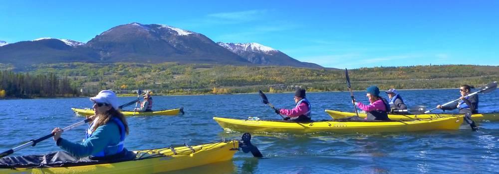 Kayak Lake Dillon