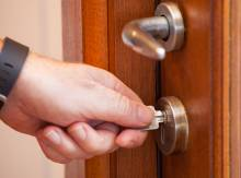 Opening Closet Door